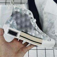 Zapatos de lona clásicos MAN B 23 Zapato oblicuo Moda Zapatillas de deporte casuales gris blanco negro de encaje