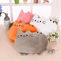 Pillow Case 1Pc 30cm Doll Down Cat Plush Cushion Brinquedos With PP Cotton Stuffed Animal Toys Dolls Kids Home Decoration