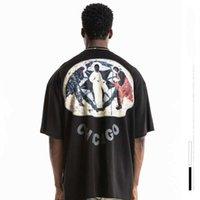 Peur de Dieu de luxe de luxe vêtements femme femme femmes hommes T-shirt Gymshark Travis Scott 2021 Essentials Tee Imprimer Peinture Kanye Jésus est King C