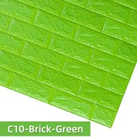 Wall Stickers 3D DIY Home Decor Self-Adhesive Wallpaper For Bedroom Kids Room Decoration Waterproof Brick