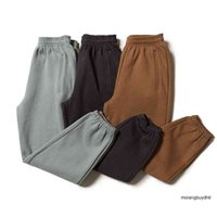 Fashion Casual Kanye West Season 6 Sweatpants Gray Black Brown Solid Color 6 Pants Trousers Joggers 8ADP