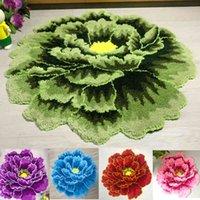 Горячие продажи Маленький ковер мягкий коврик искусства, стекающий цветочный коврик для гостиной спальни пиона