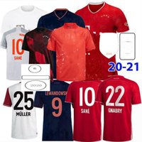 2019 2020 2021 Fussball Jerseys Upamecano Pavard Zirkzee Goretzka Neuer Müller Lewandowski München Sane Kimmich 120 Jahre Fußball Hemd 4XL