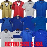 1982 1986 1990 1994 1994 1998 Totti Retro Jersey Jersey Maldini Baggio Rossi Schillaci Del Piero 2000 2006 Pirlo Inzaghi Buffon Itália Canavaro Gattuso Classic Shirt
