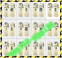 Jersey 2021 Imprimé Femmes pour hommes personnalisés Enfants Anetokounmpo Eric Bledsoe Khris Middleton George Hill Crème Custom City Basketball Jerseys
