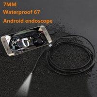 3.5M Endoskop-Boreskop-Camcorder USB-Android-Inspektion-Kamera 6 LED 7mm-Objektiv 720P Wasserdichte Auto-Endoskopio-Röhre Mini-Kameras