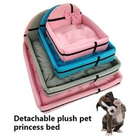 Kennels & Pens 1 Pcs Detachable Pet Bed Dog Puppy Cat Nest Soft Warm For Sleeping AIA99