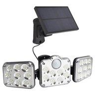 Solar Lamps LED Wall-lamp Solar-power-lantern Garden-light Solar-battary-lamps Outdoor Street-light Body Sensor-floodlight Control-light