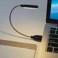Buchlichter USB-faltbare Nachtlicht LED-Mini-Lesen-Tischlampe Tragbare Notebook-Steckdose für Schreibtisch Decorat PC-Tastaturbeleuchtung