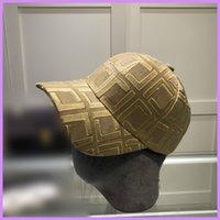 Moda Gömme Şapka Tasarımcısı Kadın Erkek Beyzbol Şapkası Harfler Kapaklar Şapka Spor Sokak Rahat Kova Şapka Casquette Lady Açık Niced218275F