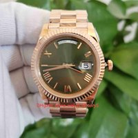 BP Maker Top Quality Watches 40mm Day-Date 228235 President 18k Rose Gold Green Dial Asia 2813 Movement Mechanical Automatic Mens Watch Men's Wristwatches