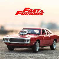 1:32 Dodge Charger Alloy Model Diecasts & Toy Vehicles Fast The Furious Classic Metal Car Toys For Children