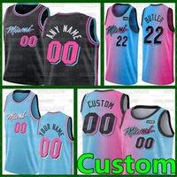 Custom Meyers 0 Leonard MiamiHitzeBasketball-Trikots Edelstatre 5 Achiuwa Kelly 9 Olynyk Max 31 Kendrick Basketball 14 Herro-Trikots