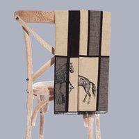 Mode Marke Herrenschal Winter Modell Zimmer Mantel Kleiderschrank Ausstellung Einfache Pferd Männer