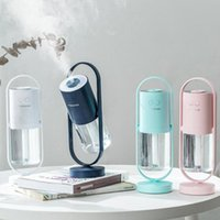 Humidifiers 200ml Magic Shadow USB Air Humidifier For Home With Projection Night Lights Ultrasonic Car Mist Maker Mini Office Purifier