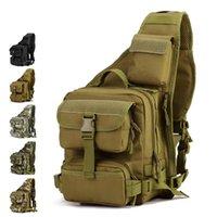 Hommes Multi-fonction Ranger Sac à dos Molle Système tactique sac à bandoulière tactique de camping en plein air