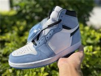 Universidad azul 1 alto OG OG Mocha Oscuridad Zapatos de baloncesto Obsidian Chicago Deportes Sneakers Mujeres Turbo Verde Bio Bio Hack Black Amarillo Toe