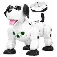 2.4G drahtlose Fernbedienung Smart Tiere Spielzeug Roboter Hund Kinder Smart RC Toys Elektronische Spielzeug mit Touch Sense Watch Control