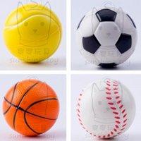 تململ اللعب 7 سنتيمتر تململ لعب التوتر الإغاثة لعبة رغوة بو الكرة الضغط لعبة مرونة كرة القدم كرة السلة تنس البيسبول 2021 بيع H38CWGZ