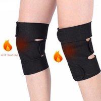 Локоть коленные колодки колена / локоть турмалиновые самооглощения магнитная терапия Kneepad обезболивающие артрит артрит скобка поддержка пакел рукава Pads1