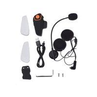 Bluetooth Motorrad Helm Headset Intercom Kommunikation Kopfhörer Universal Wireless Interphone mit 2 oder 3 Fahrern