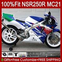 Инъекционный OEM для Honda Blue Glossy NSR250R NSR 250 R MC21 PGM3 103HC.83 NSR 250R NSR250 1990 1991 1992 1993 NSR250RR 90 91 92 93