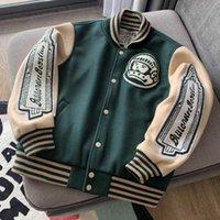 Varsity Baseballjacke Männer Kleidung Frauen Bomber Mäntel Harajuku Racer Streetwear Motorrad Techniker Marke Parkas Cropped 2021 Herrenjacke