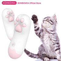 Бомбомда кота когтя лизать вибратор для женщин G-Spot Massage клитор стимулятор женский мастурбация прыжки яичный влагалище вибрация 210621