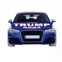 Trump Seçim 2024 Hood Bayrak Seçim Araba Enginee Kapak Bayrakları Yıkanabilir ve Kurutma Güvenli Kolay Kurulum ve Kaldırma Kampanyası Banner DHL Gemi