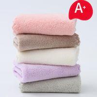 Towel 10pcs Pure Cotton Super Absorbent Large Bath Thick Soft Bathroom Towels Comfortable 35x75cm