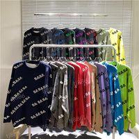 diseñador suéter hombres mujeres senior clásico ocio multicolor otoño invierno mantener caliente cómodo 17 tipos de elección Top1 de alta calidad