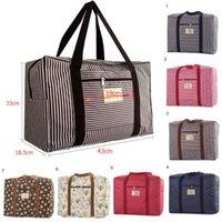 Duffel Bags High Quality Waterproof Plaid Travel Unisex Large Duffle Bag Organizer Luggage Packing Weekend Bag#0325g30
