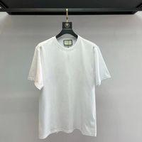 Plus Размер M-5XL футболка Мужчины и женщина Женская одежда Luury Buitureness Белый Печать 100% Хлопок Высочайшее Качество Шея Цветные Рубашки для Человека Повседневная Дизайнер