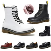 Martin Designer Boots Fashion Luxurys Classic Winter Snow Boot per donna Uomo Scarpe Smooth Leather Oxford Platform Booties Sneakers