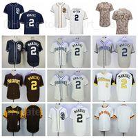 Uomini retrier 1978 Vintage Baseball 2 Johnny Manziel Jersey Pullover Alll Cucitato FlexBase Cool Base Team Navy Blu Marrone Bianco Grigio CAMO