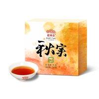 Vieux camarade Qiushi Pu'er thé mûre 297g Goût riche et moelleux Yunnan Ecological Lahu Chawan Tea Factory