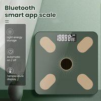 Body Body Floor Balance Bain Body Body Poids Balance LCD Affichage Énergie Lumière USB Rechargeable Smart Electronic