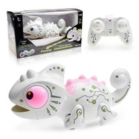 RCtown Remote Control Chameleon 2.4GHz Pet Intelligent Toys Robot For Children Kids Birthday Gift Funny Toy RC Animals