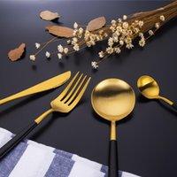 Наборы столовых приборов Ins Grace Western-Style Case Нож Вилка Ковш Beefsteak Tableware Костюм Первый курс 410 Набор из нержавеющей стали