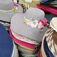 Spring Dames Koreaanse zomer Cool Veelzijdig zonnebrandcrème en zonnescherm Big Ee-hoed uit het toeristengebied