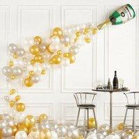 Big balloon الشمبانيا بالون الزفاف عيد حفل زينة الكبار الاطفال بالونات globos الحدث حزب اللوازم 0086