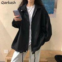 Women's Jackets Jacket Women Harajuku Summer Trendy Basic BF Style All-match Teens Streetwear Coat College Leisure Cargo Ladies Outwear