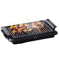 Haushalt rauchloser elektrischer grill grill multifunktionale grill brisecue pan hütton spindel grillung topf innen elektrische backtisch bbq 22