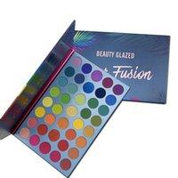 Ombre oculaire beauté bouillie 39 couleurs arc-en-ciel mate fard à paupières palette de fasion pigment maquillage palette palette palette de chatoile cosmétique