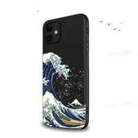 For iPhone 12 Mini 11 Pro Case 7 8 6 PlusX S Max XR Phone Cases se 2020 Cover 3D Wave Flower Soft TPU Bussiness Back Cover Capa