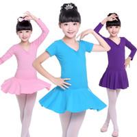 Niños bailarina azul vestido de ballet leotards gimnasia tutu para niñas niños trajes de baile dancing ropa bailarina ropa ropa ropa