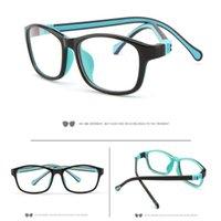 Silica gel anti-blue light glasses for children SUNGLASSES baby boys and girls Same frame UV 400 liang0899