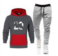 2 Piece Men's Set sweatsuit Tracksuits Men hoodies + pants Sets Autumn Winter Mens Clothing Sweatshirt Pullover womens Casual Tennis Sport Tracksuit Sweat Suit