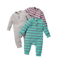Jumpsuits Baby Long-sleeved Rompers Girls Printed Cotton Boys Outdoor Climbing Jumpsuit Hands Feet Wraped 35