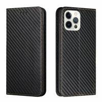 Carbon Fiber Leather Wallet Phone Cases For Iphone 13 12 Pro Max 11 XR XS LG Stylo 7 6 4G 5G K52 K22 Phone13 Card Vertical Holder Flip Cover Suck Magnetic Closure mobile bag
